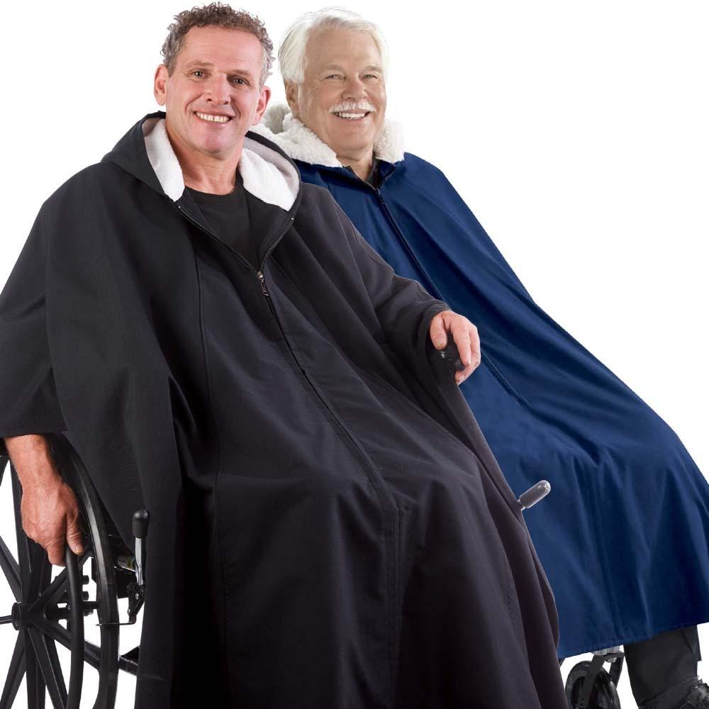 *RollyT* Rollstuhlponcho Winter-Cape • Tamonda Pflegemode