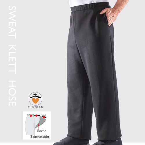 *KaiT* Sweat-Klett-Hose S - 2XL • Tamonda Pflegemode •