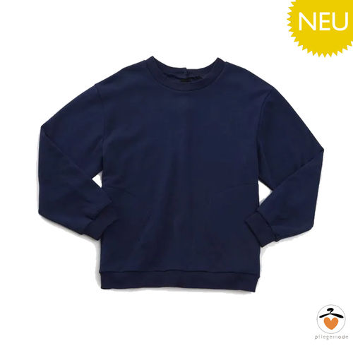 *HendrikT* Herren Pflege-Sweat-Shirt barrierefreies Top S - 3XL