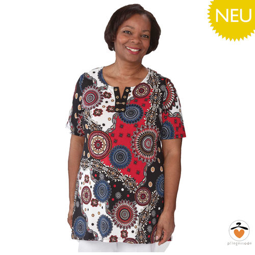 *LarahT* elegantes modisches Damen Pflege-Shirt Top S - 2XL