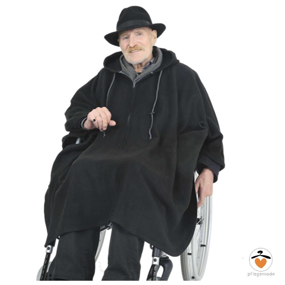 d86fc4e3b02459 *RollyT* - Fleece Poncho - One Size • Tamonda Pflegemode •