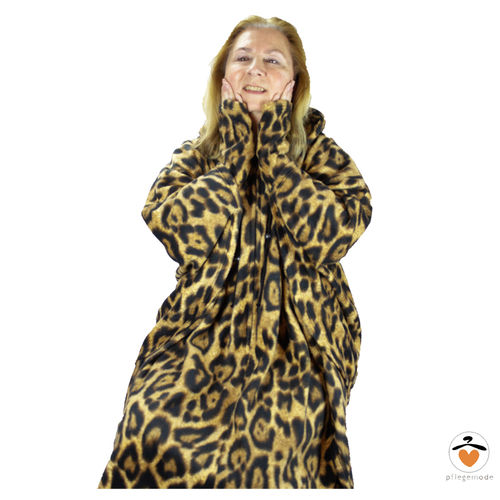 *RollyT* - Leo Fleece Poncho - One Size • Tamonda Pflegemode •