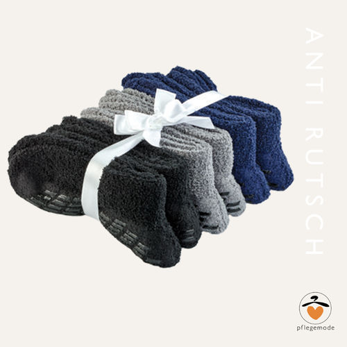 *Anti-Rutsch-Socken* Patienten Socken 6er Pack • Tamonda Pflegemode •