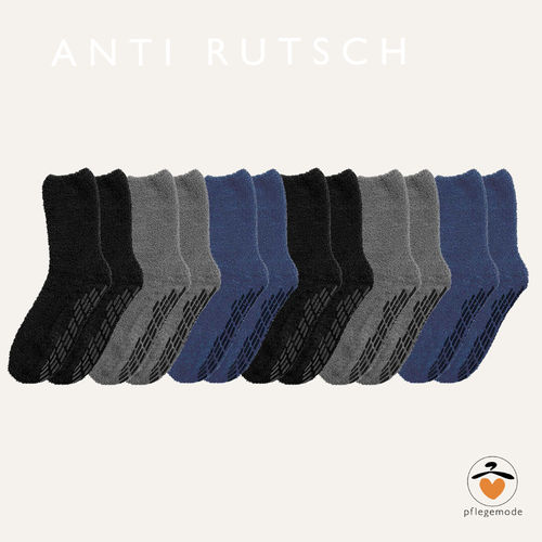 *Anti-Rutsch-Socken* Unisex 6er Pack • Tamonda Pflegemode •