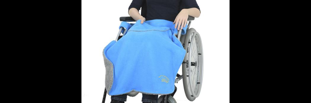 *RollyT* Rollstuhl Kniedecke • Tamonda Pflegemode •