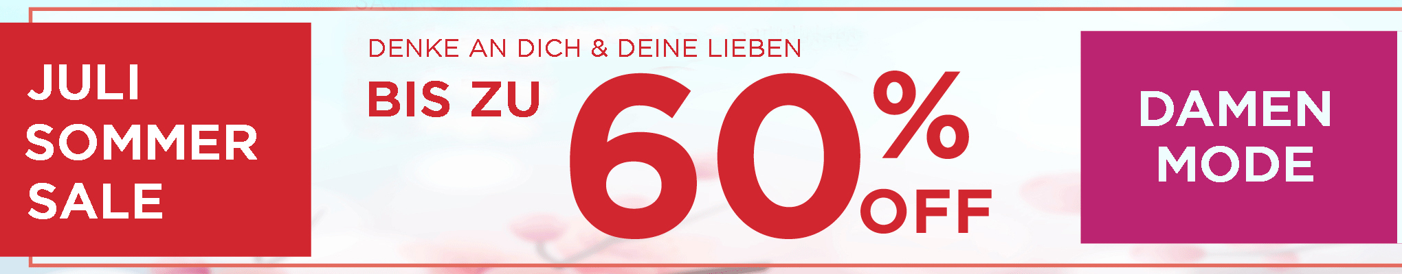 Damen SALE bis zu 60% OFF
