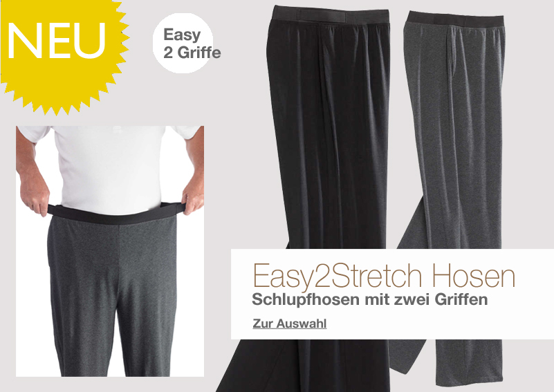 Shop für Herren - Easy 2 Stretch Hosen