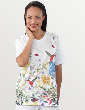 *PantanellaT* Damen Pflege Shirt S- 2XL • Tamonda Pflegemode •