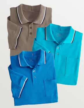*FrankT* Pflege Polo-Shirt S - 4XL • Tamonda Pflegemode •