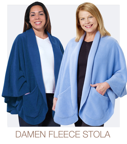 Fleece Stola für Damen