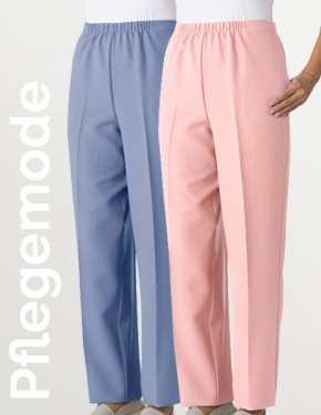 *Sommerhosen* Leinenlook - Farbe: Denim Blue, Navy, Dusty Green, Pink