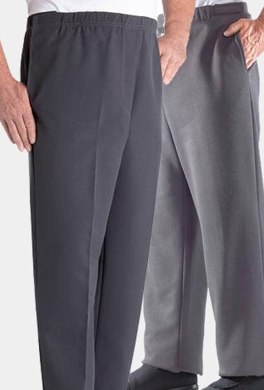 21b8ce4a4d0f7 ... Arthritis Schlupf   Klett Hose für mobile Senioren - seitliche  Klettverschlüsse ♥