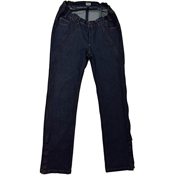 HE.H 001 Jeans EASY Zipper Front