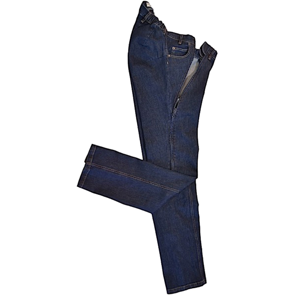 HE.H 001 Jeans EASY Zipper seitlich